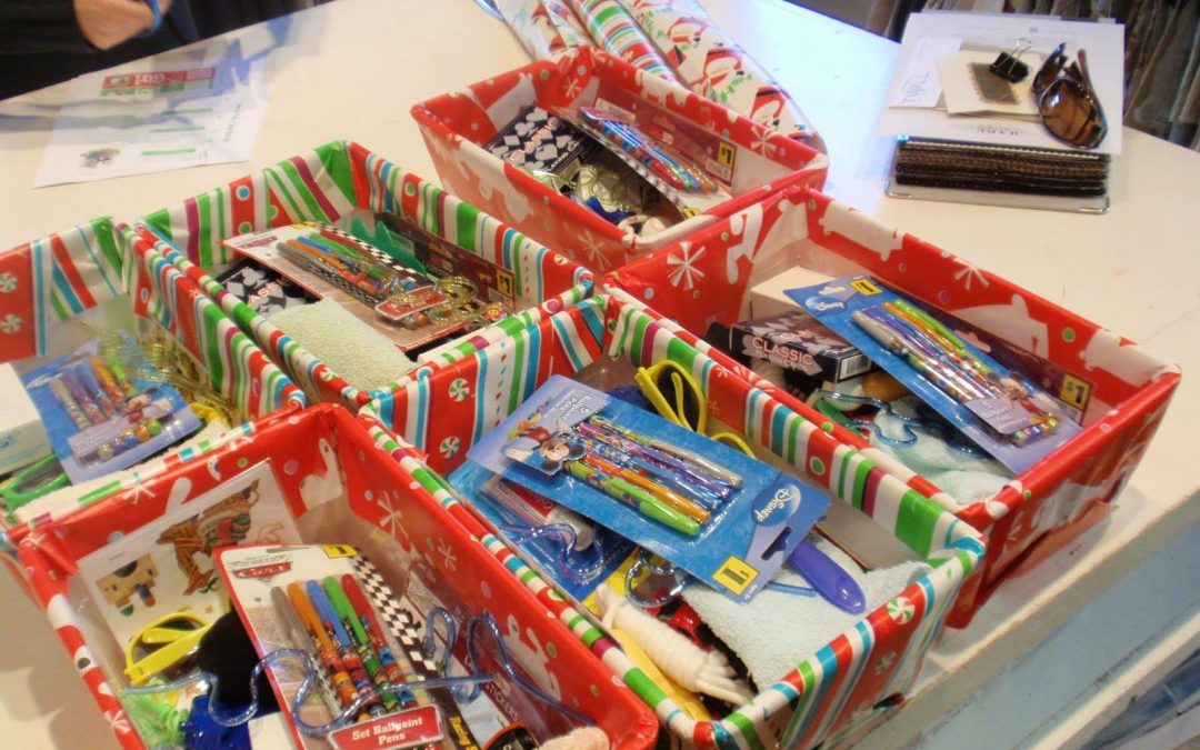 Collection for Shoeboxes of Love