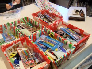 Collection for Shoeboxes of Love @ No Limits Church