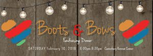 Boots & Bows Fundraising Dinner 2018 @ Caterbury Retreat Center
