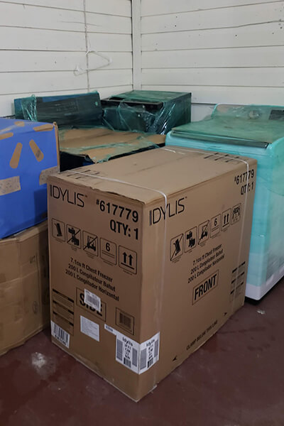 appliances for Sunflower Safe House